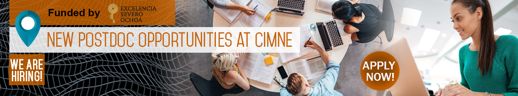 New Postdoc opportunities at CIMNE